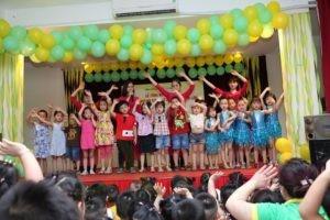 lễ tổng kết năm học trường mẫu giáo số 3